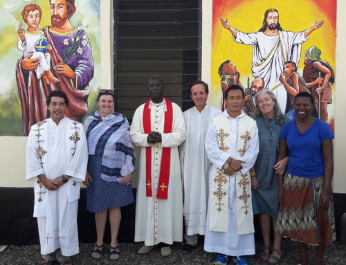 Blessing of the Church of Nariokotome Anam and the Dispensary of Nariokotome